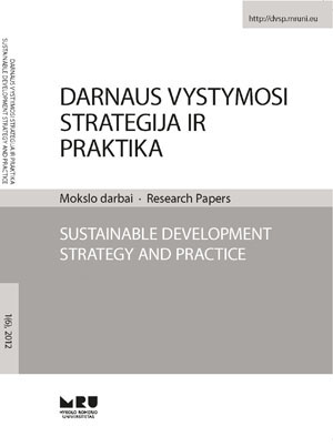 Sustainable Development Strategy and Practise cover