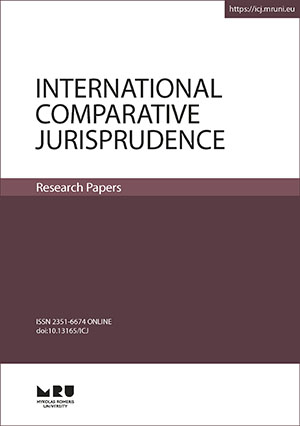 International Comparative Jurisprudence