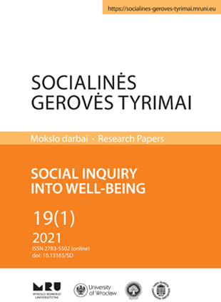Social Inquiry into Well-Being cover
