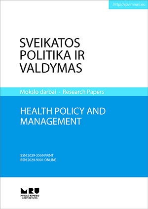 Health Policy and Management cover